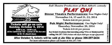 39-1 Darkhorse Theatre ticket sales