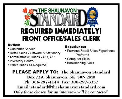 Standard Office Employment ad