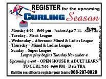 40-1 Curling Registration