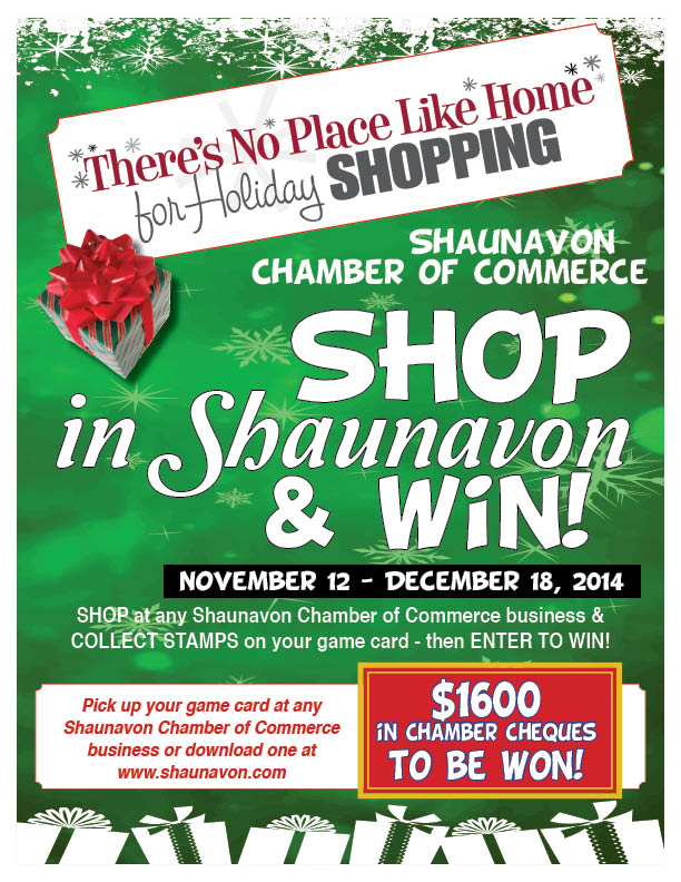 2014 Shop Shaunavon Poster