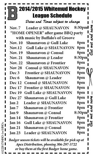 44-1 Badgers FIX Game Schedule