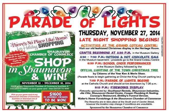 Chamber Parade of Lites COLOUR 2014