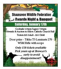 51-1 Wildlife awards banquet